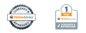 Home Advisor Screen and Approved Logos