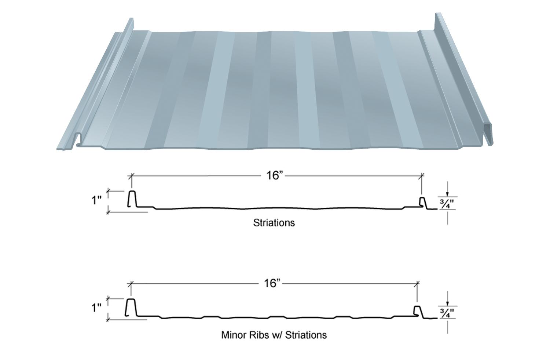 SL-16 Roof Panels