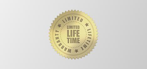 Limited Life Time Warranty Logo