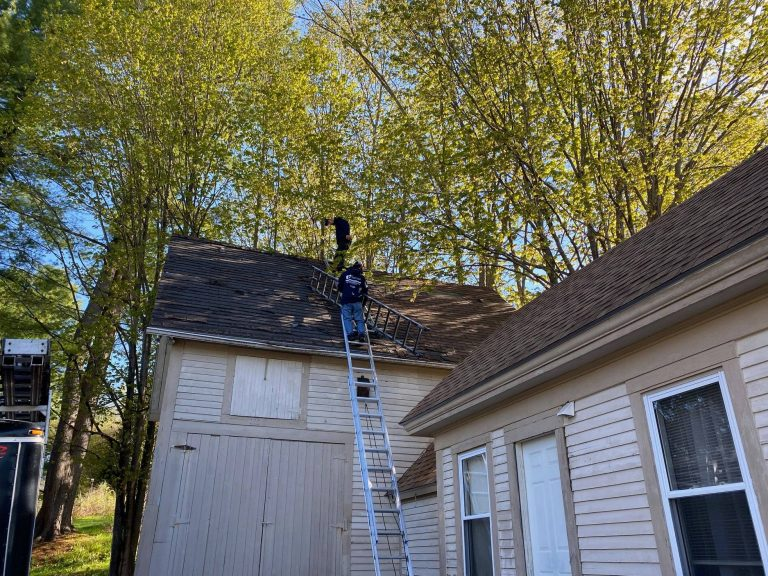 How can I inspect my own roofing system?